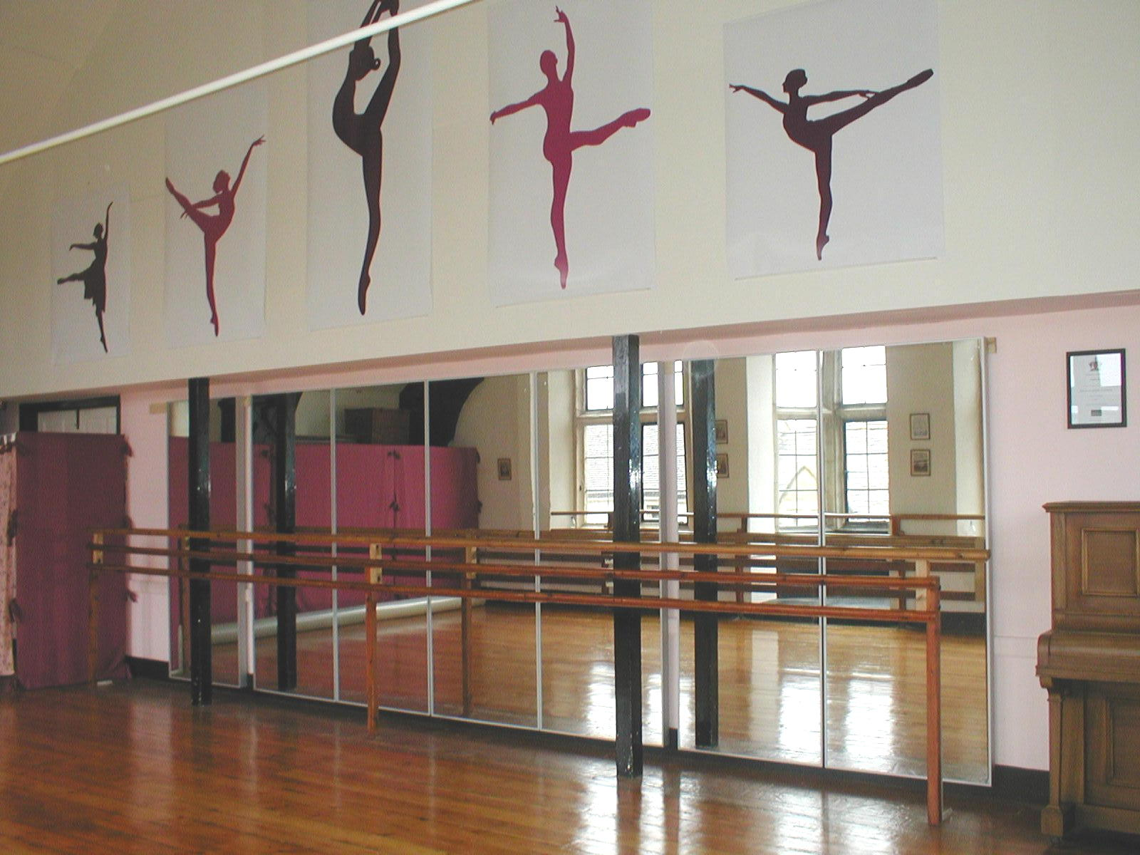 alfa img showing dance studio wall